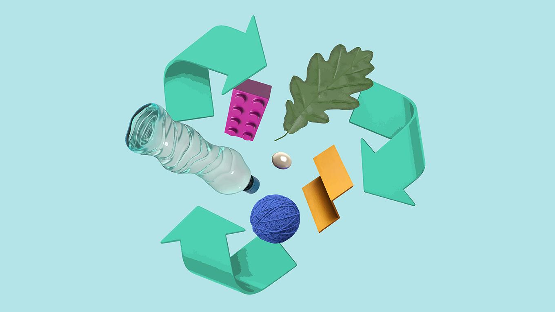 플라스틱을 덜어내는        새로운 제작 시도들 프로젝트 안내 이미지 입니다.