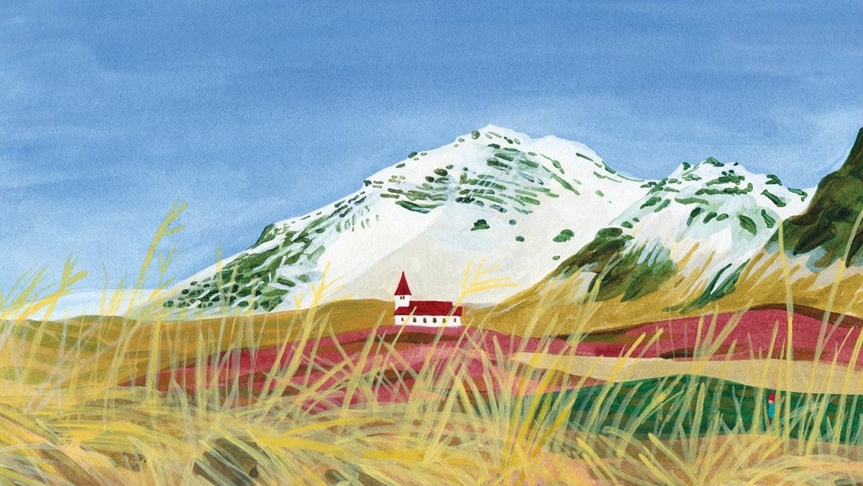 그림으로 떠나는       아이슬란드 여행  프로젝트 안내 이미지 입니다.