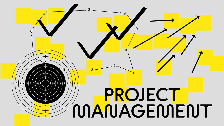 프로젝트 관리에 대한          조언 5가지 프로젝트 안내 이미지 입니다.