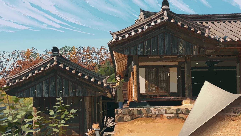 책을 펼치면 조선시대 양반이 된 듯 프로젝트 안내 이미지 입니다.